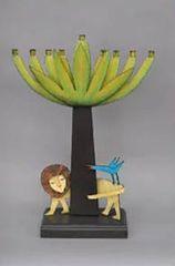 Acme - Tree/Lion Menorah