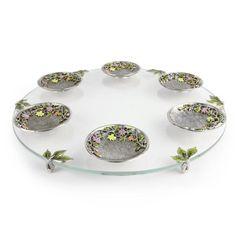 Quest - Freesia Seder Plate