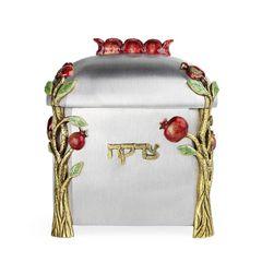 Quest - Pomegranate Tzedakah Box