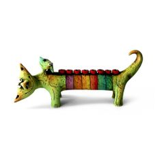 Olshansky - Ceramic Animal Menorahs