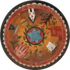 Sticks - Judaic Lazy Susan to Tell Your Story