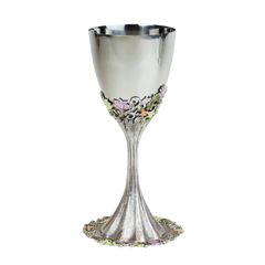 Quest - Freesia Kiddush Cup with Saucer