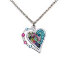 Seeka - Turquoise Heart Necklace