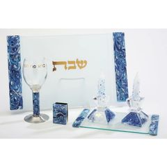 Baskin - Marbled Shabbat Set