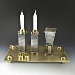 Stember - Prayer Collection Shabbat Set with Tray