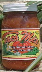 Zesty Taco Sauce Tex-Mex Style 16 oz