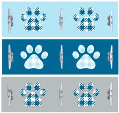 8x24 Paws with Boat Cleats