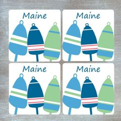 Buoy Coaster Set - Customizable