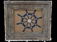Ship Wheel - Burlap Collection