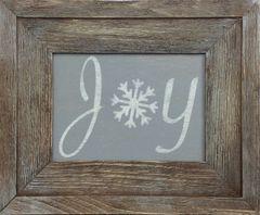 Joy with Snowflake