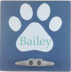 Customized 8x8 Paw Print