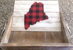 Insert Only - Customizable Red Buffalo Check