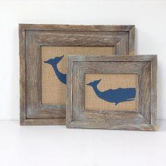 Whale - Burlap Collection