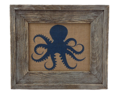 Octopus- Burlap Collection