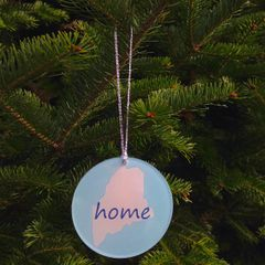 Home Ornament - Blue