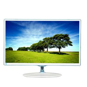 "Samsung 23.6"" S24D360HL PLS LED Monitor - White"