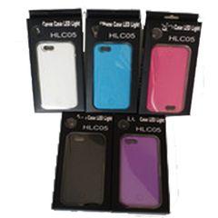 IPhone 6/6S Selfie Case w/LED Light + Wiide Angle Len - White