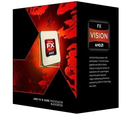 AMD X8 FX-8350 (125W) Eight-Core Socket AM3+