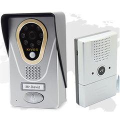KiVOS KDB400 Wireless/IP Doorbell with Camera