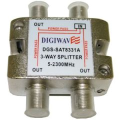 Digiwave DGS-SAT8331A 3 Way Splitter 5 - 2400MHz