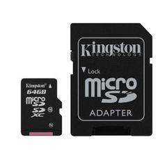 Kingston 64GB Micro SD Card Class 10