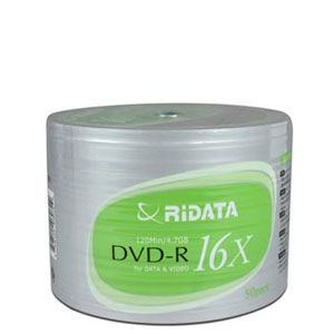 Ridata 16X DVD-R 50pcs Spindle