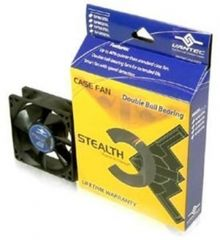 Vantec SF8025L 80mm Double Ball Bearing Stealth Case Fan