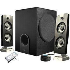 Cyber Acoustics Platinum CA-3602 2.1 Speaker System - 30 W RMS