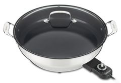 "Cuisnart CSK-250 GreenGourmet™ Electric 14"" Skillet - Refurbished"
