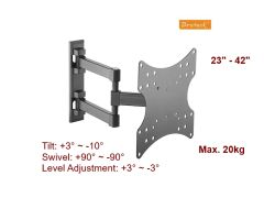 Super Economy Full-motion TV Wall Mount KLA26-223