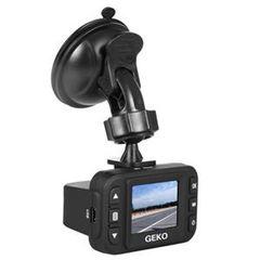 "Papago! Geko E100 Digital Camcorder - 1.5"" LCD - HD CMOS - Full HD - Black"