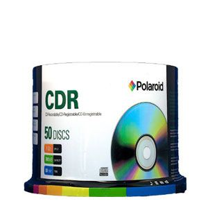 Polaroid 52X CD-R 50pcs Spindle