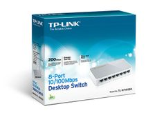 TP-LINK TL-SF1008D 8 Port 10/100Mbps Desktop Switch
