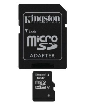 Kingston 8 GB microSDHC SDC4/8GB
