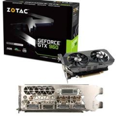 Zotac ZT-90308-10M GeForce GTX 960 Graphic Card - 1.18 GHz Core