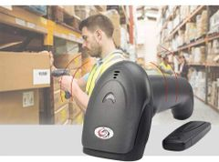 SUNLUX Barcode Scanner, XL-9309 1D Wireless Barcode Scanner