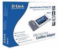 DLINK DUB-C2 CARDBUS ADAPTER