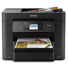 Epson WorkForce Pro WF-4730 All-in-One Printer Print