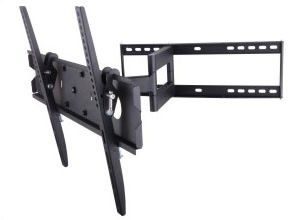 """TygerClaw LCD4091BLK - 32"""" – 63"""" Full-Motion Wall Mount"""