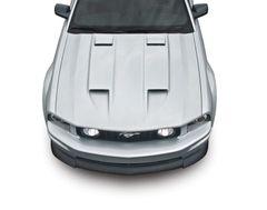 05-09 Mustang Stalker Ram Air Hood, Part # 1186, Unpainted