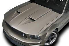 05-09 Mustang Mach One Ram Air HoodMade In America , Part # 1206, Unpainted