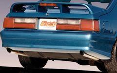 79-93 Mustang Cobra Rear Bumper, Part # 3336, Unpainted