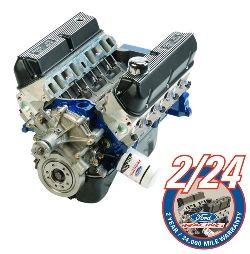 302 CUBIC INCH 340 HP BOSS CRATE ENGINE/ M-6007-X302E*