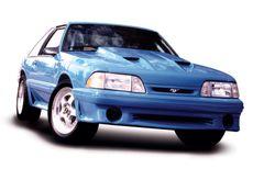 87-93 Mustang Stormin Norman Hood, Part # 103, Unpainted