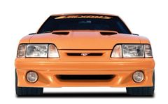 87-93 Mustang Stalker Front Bumper, Part # 3334, Unpainted