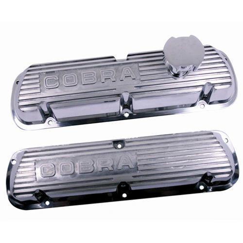POLISHED ALUMINUM VALVE COVERS, M-6000-D302