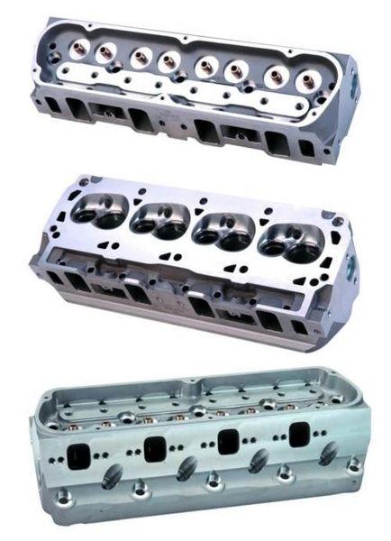 """302/351W """"Z-HEAD"""" ALUMINUM 63CC W/7MM VALVES, M-6049-Z304D7"""