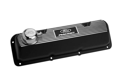 BLACK SATIN VALVE COVER, M-6582-A341R
