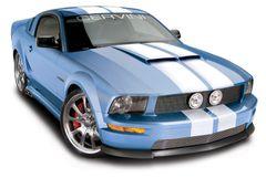 05-09 Mustang 67' Ram Air Hood Made In America , Part # 1166, Unpainted