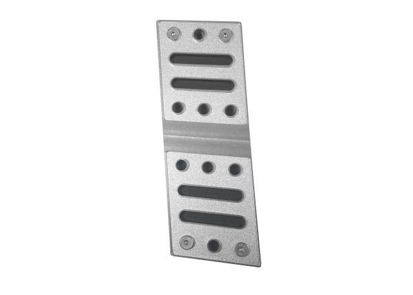 Billet Aluminum Dead Pedal/ FR3Z-6112020-BL